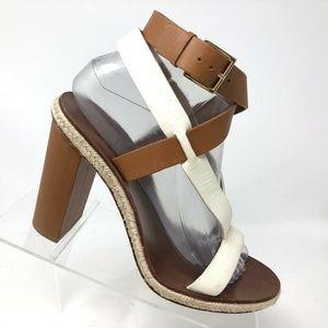 Tory Burch Open Toe Strappy Sandal Womens SIZE 8.5